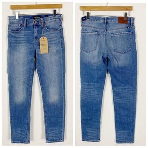 NWT LUCKY BRAND Mid Rise Brooke Crop Jeans 4 27